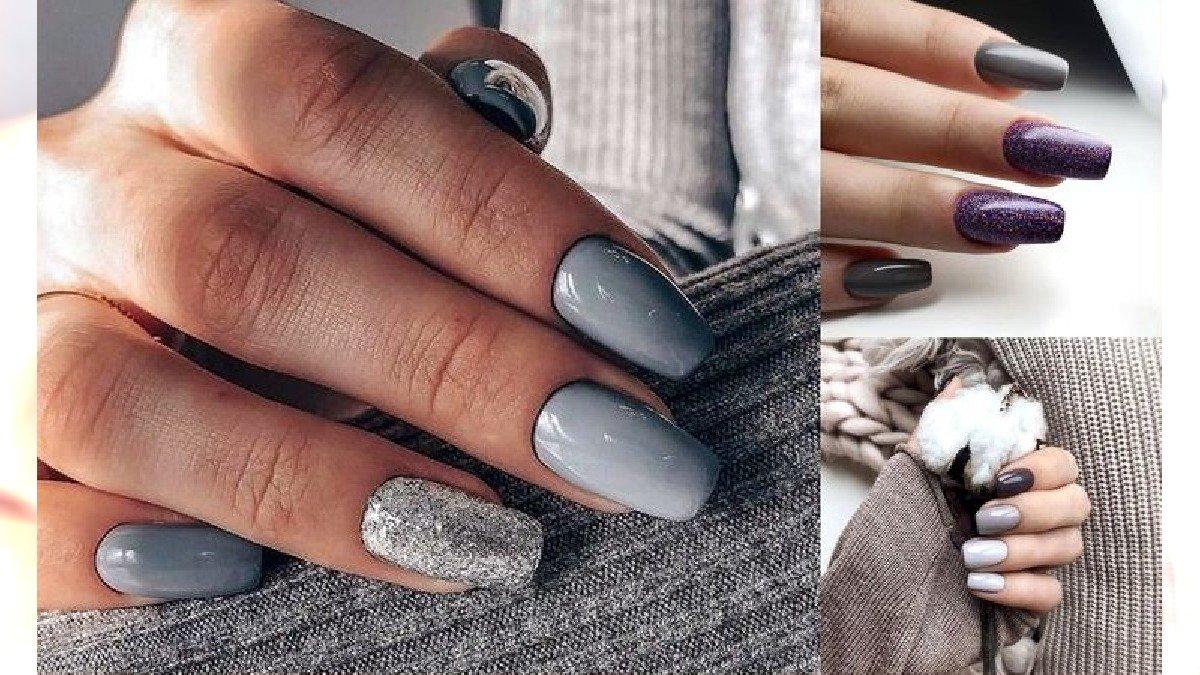 Szary manicure - 20 ciekawych stylizacji z sieci