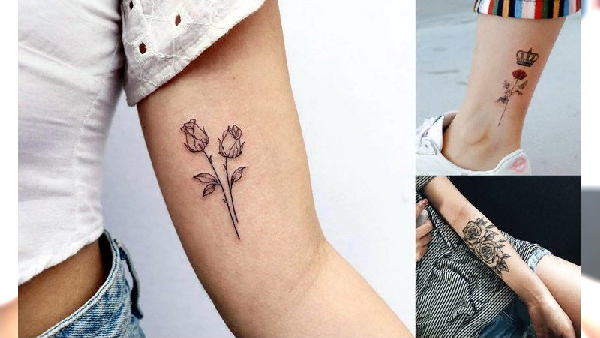 Tatuaż róża - 20 niesamowitych wzorów, jakich jeszcze nie widziałaś!