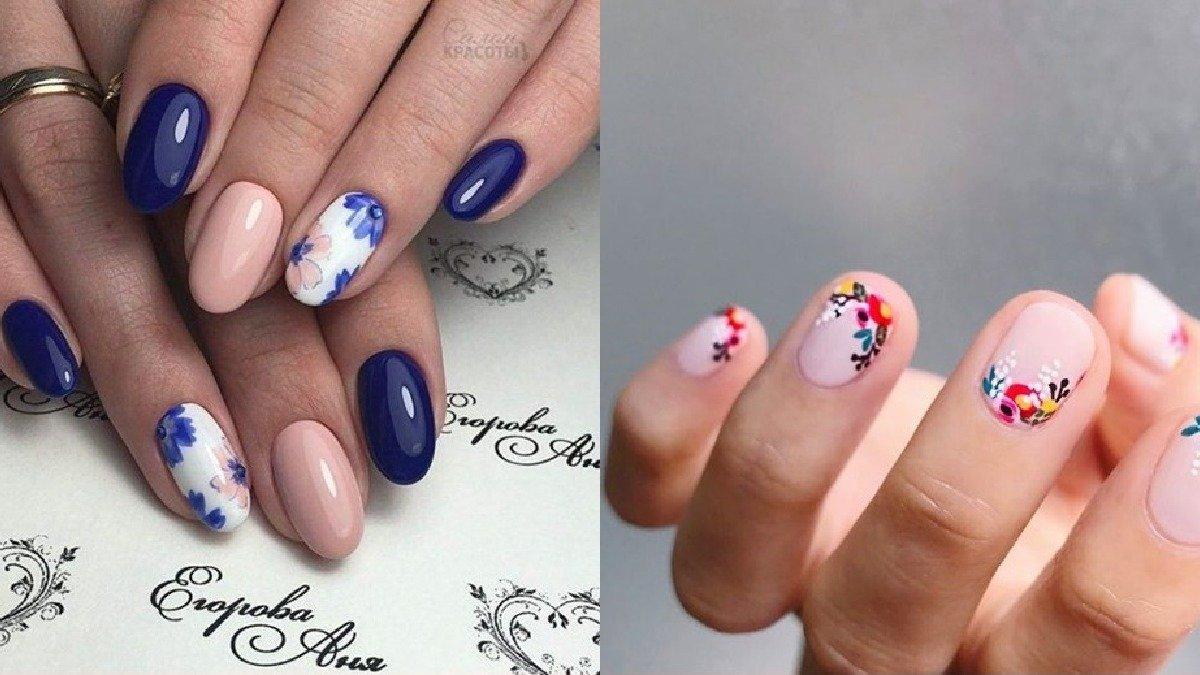 Kwiatowy  manicure - 30 propozycji na manicure z motywem kwiatów