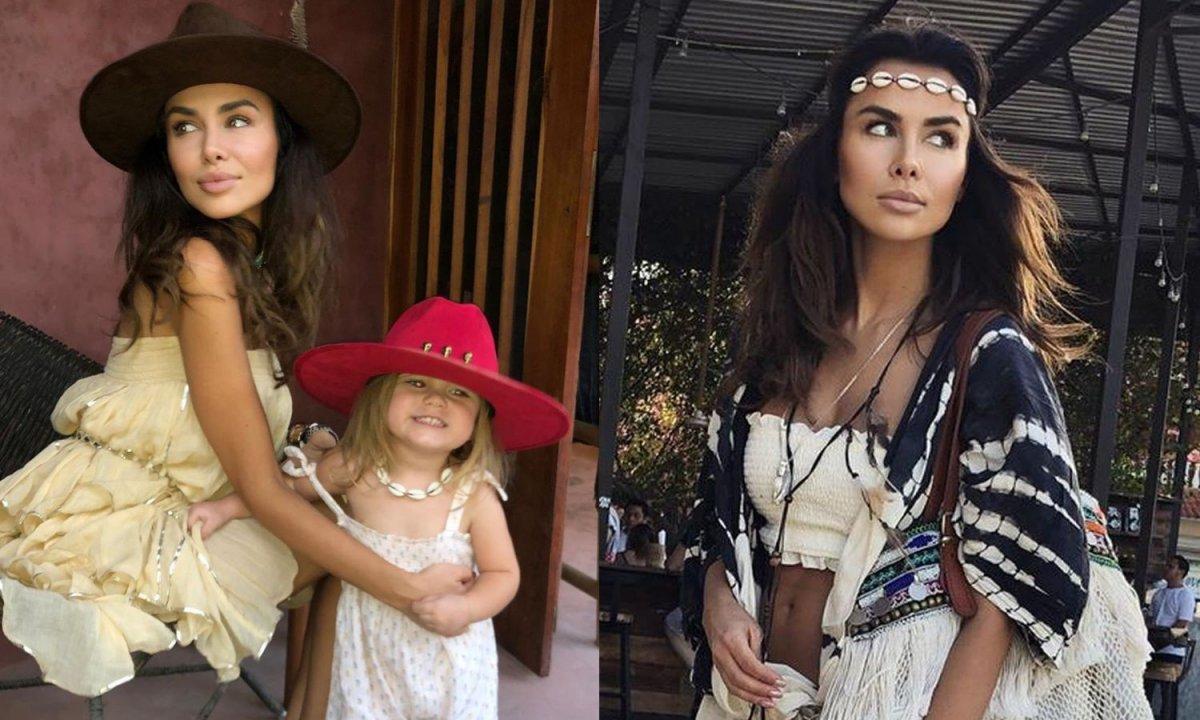 """Natalia Siwiec na zdjęciu z córką. Ups, pokazała ZA DUŻO!  """"Widać ci brzoskwinkę"""""""