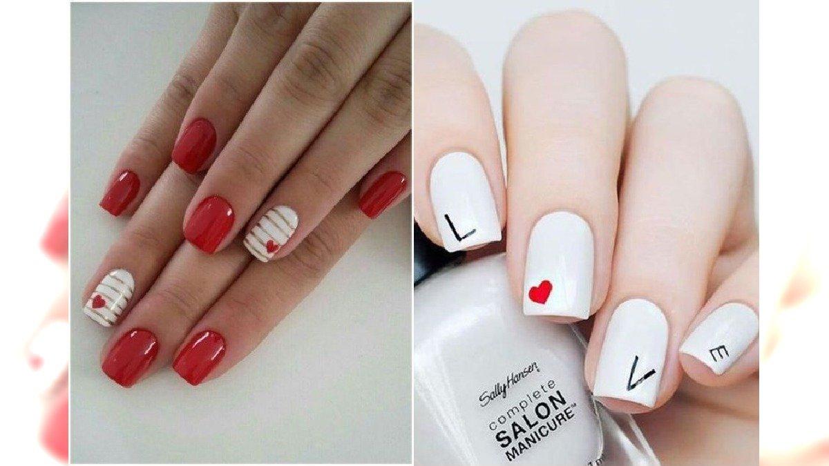 Walentynkowy manicure - ponad 30 wzorów paznokci na Walentynki [GALERIA]