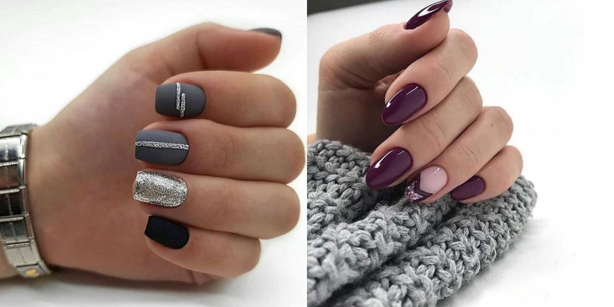 Ciemne paznokcie - elegancki manicure w 25 wydaniach [GALERIA 2020]