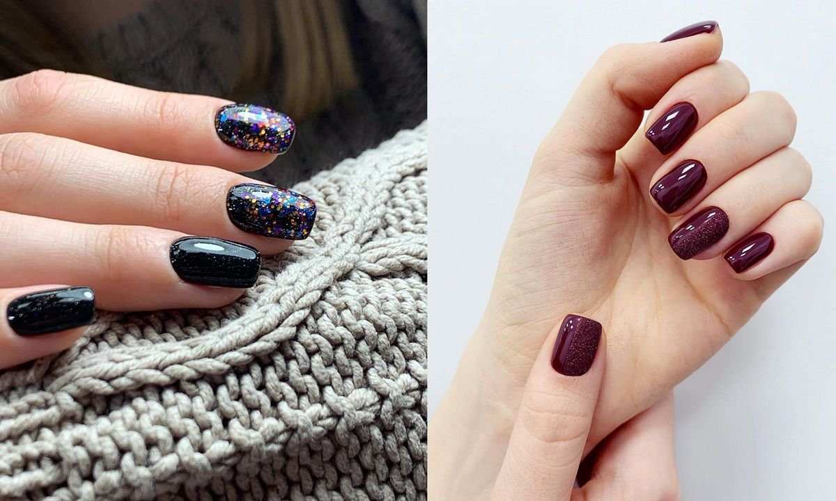 Krótki manicure - 21 najciekawszych pomysłów z sieci
