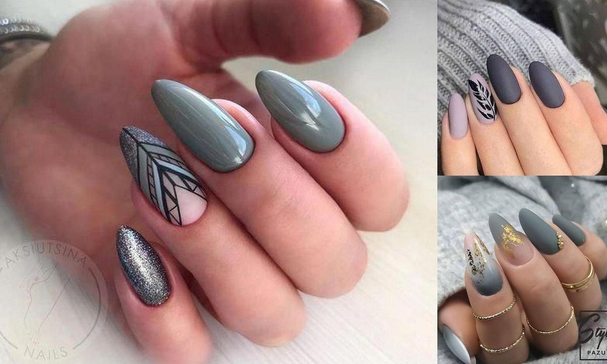 Szary manicure – kilkanaście ultraciekawych stylizacji z sieci