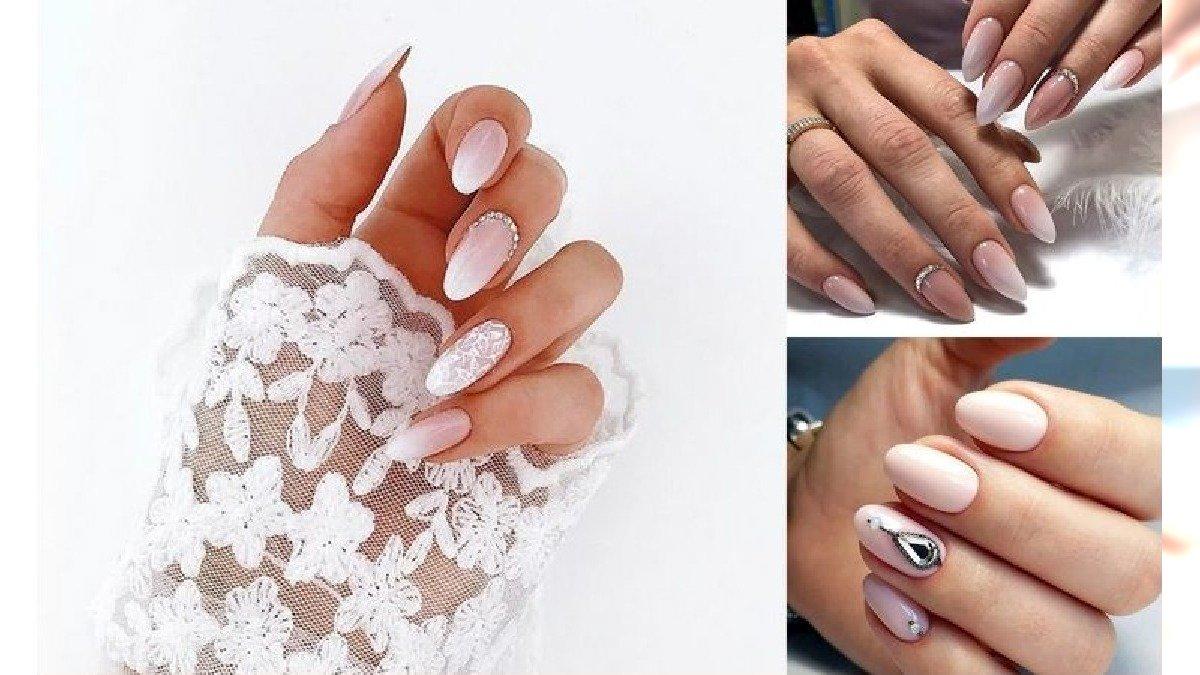 20 wyjątkowych pomysłów na ślubny manicure - galeria ultramodnych zdobień