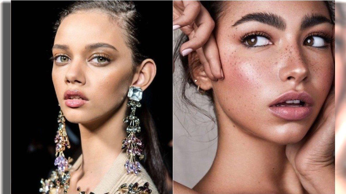 Makijaż dzienny w najmodniejszym wydaniu - trendy z pokazów mody wiosna-lato 2020