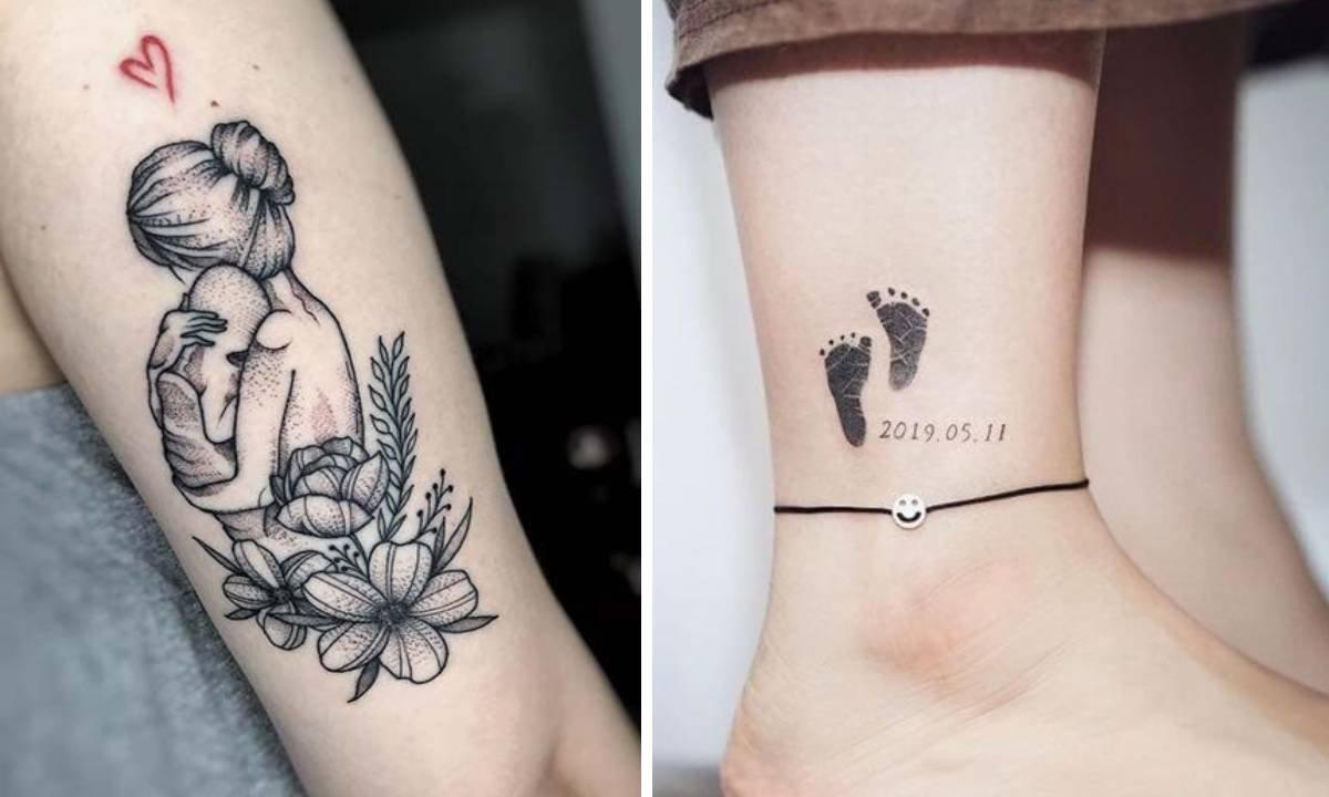 Najpiękniejsze tatuaże dla mam - 20 wzruszających inspiracji