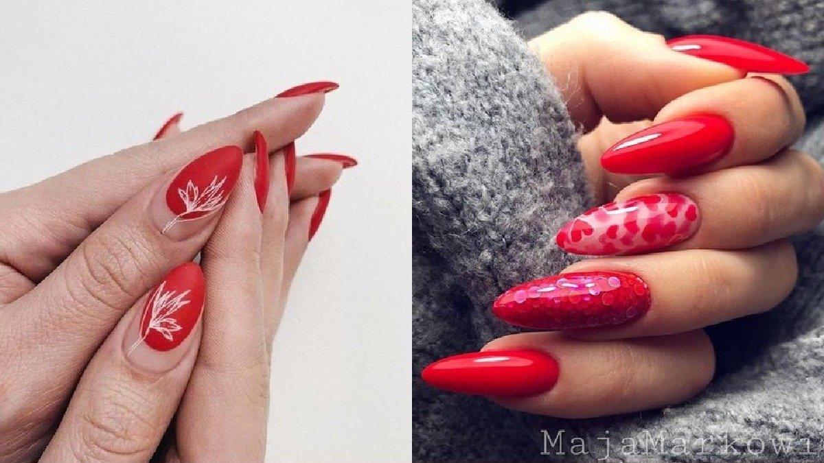 Czerwony manicure - 25 eleganckich propozycji na paznokcie w czerwonym wydaniu