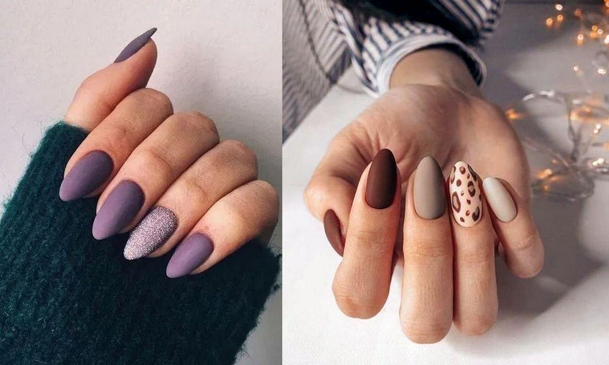 Matowy manicure - 20 najlepszych propozycji z sieci
