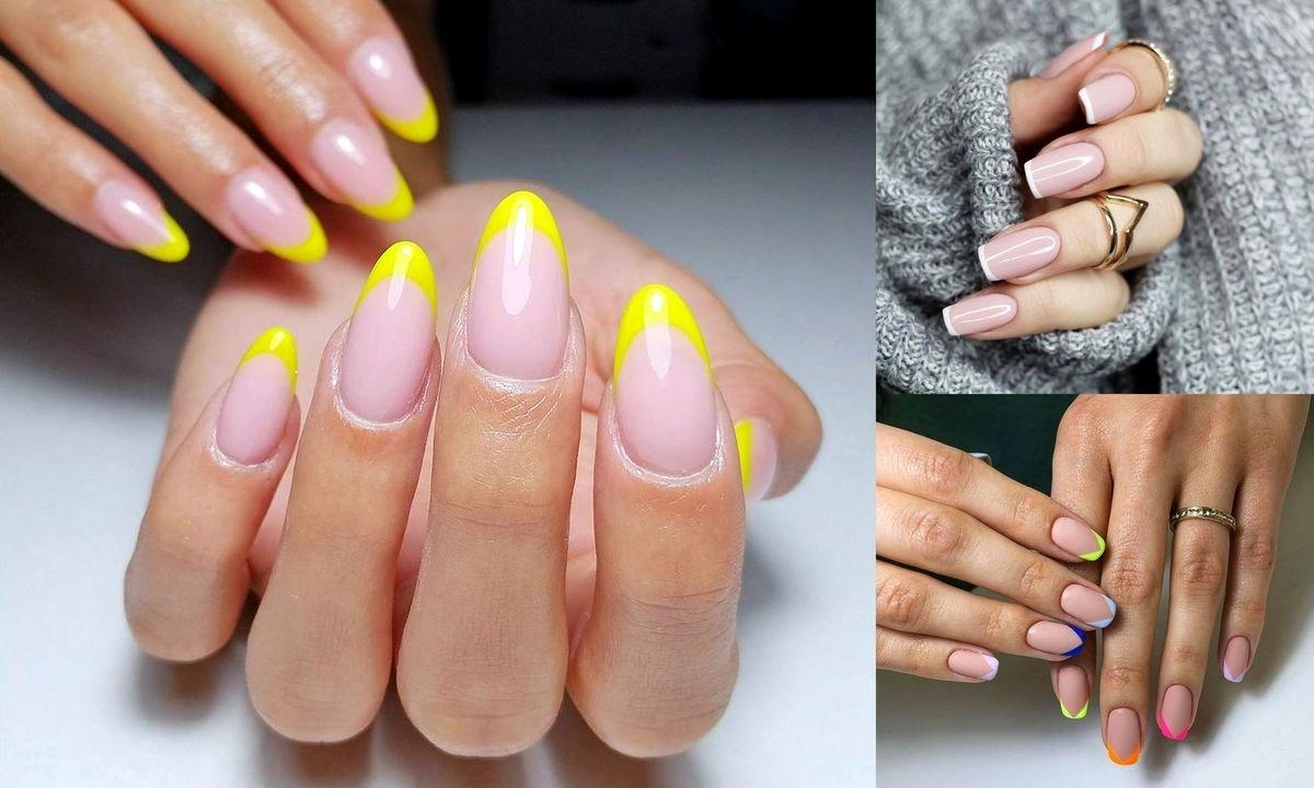 French manicure - galeria stylowych propozycji na wiosnę