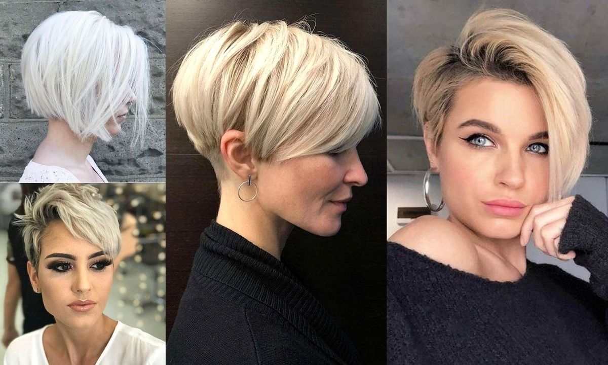 Krótkie fryzury - 17 zjawiskowych cięć dla kobiet o jasnych włosach