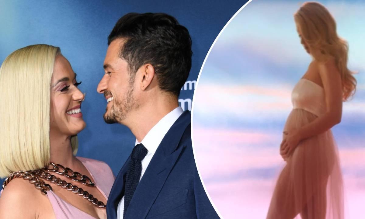 Katy Perry pochwaliła się ciążowym brzuszkiem. Radosną nowiną podzieliła się w nietypowy sposób