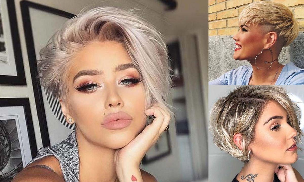 Krotkie Ciecia Dla Blondynek Galeria Kobiecych Fryzur