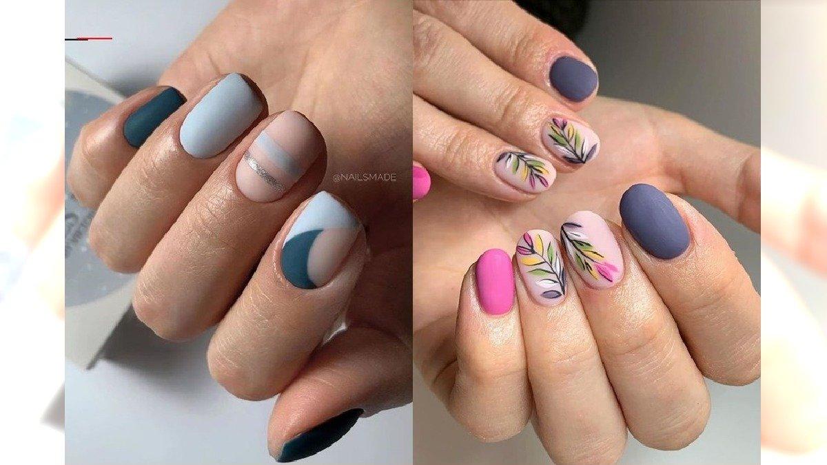 Krótkie paznokcie - 25 pomysłów na krótki manicure w kolorach wiosny [GALERIA]