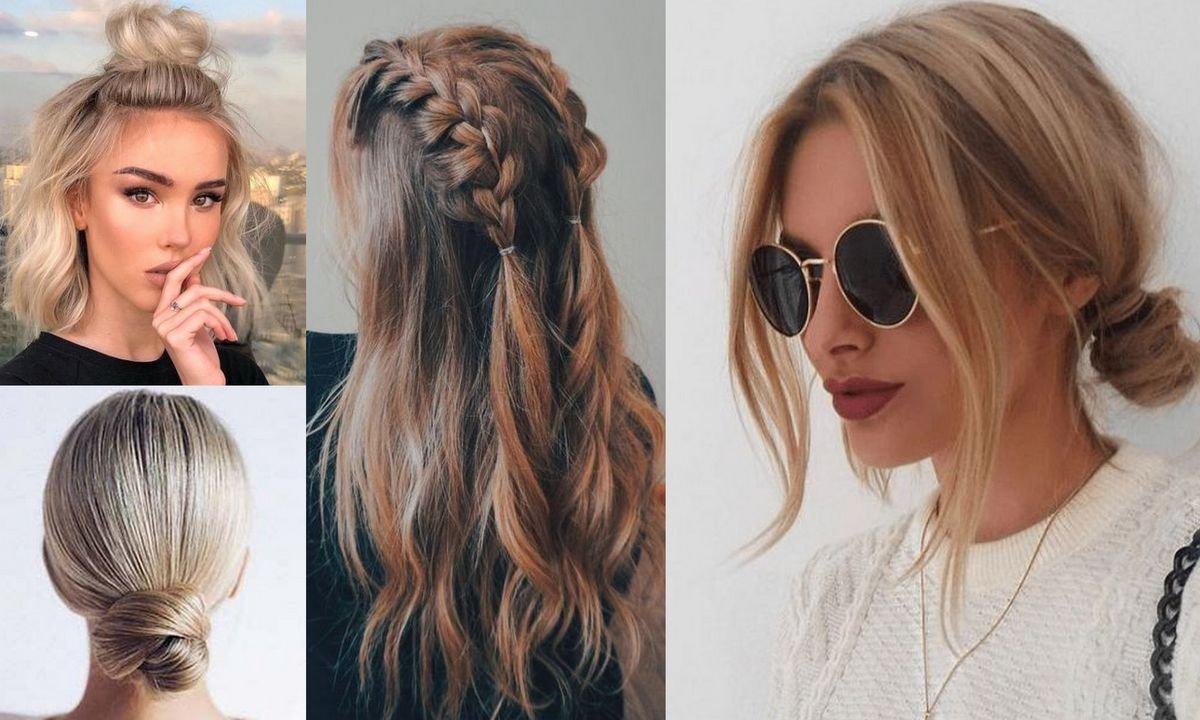 12 łatwych fryzur, które idealnie sprawdzą się, kiedy będziesz spóźniona