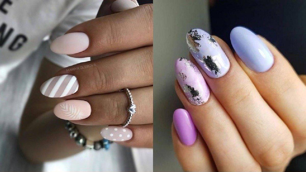 Pastelowy manicure - 25 pomysłów na paznokcie w cukierkowych kolorach