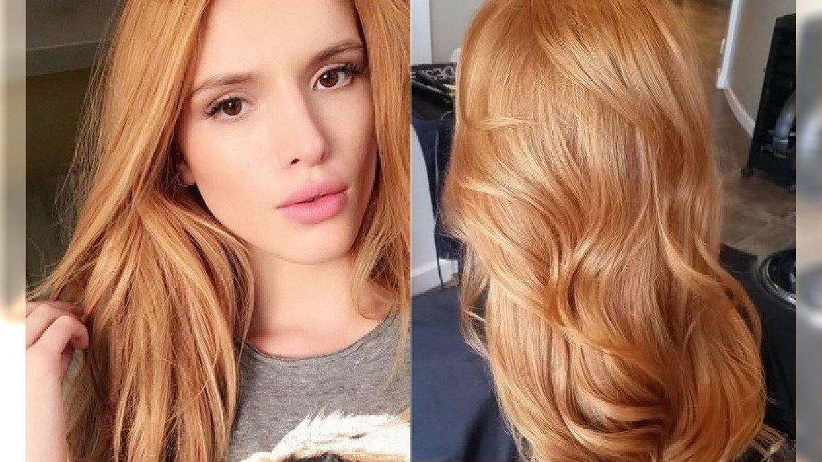 Modne kolory włosów 2020: Warm Amber - bursztynowa koloryzacja idealna na wiosnę i lato