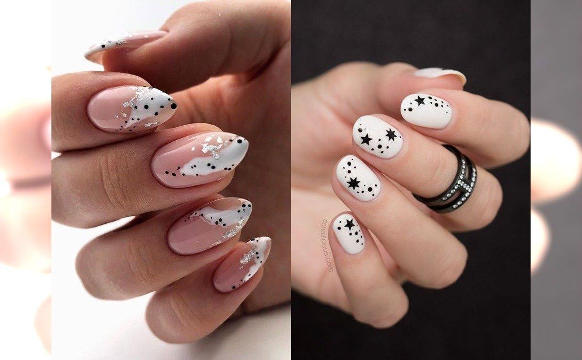 Białe paznokcie - ponad 20 propozycji na nie tylko ślubny manicure [GALERIA]