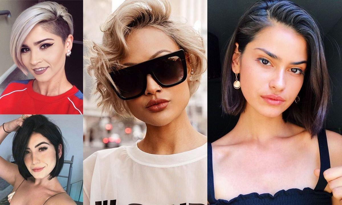 Modne cięcia dla włosów krótkich i półkrótkich - galeria fryzjerskich trendów
