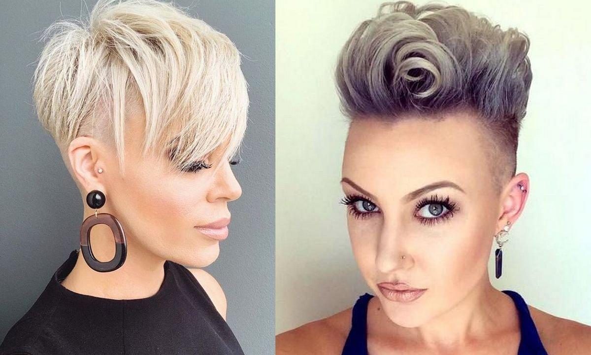 Damski irokez i cięcie undercut - katalog stylowych fryzur