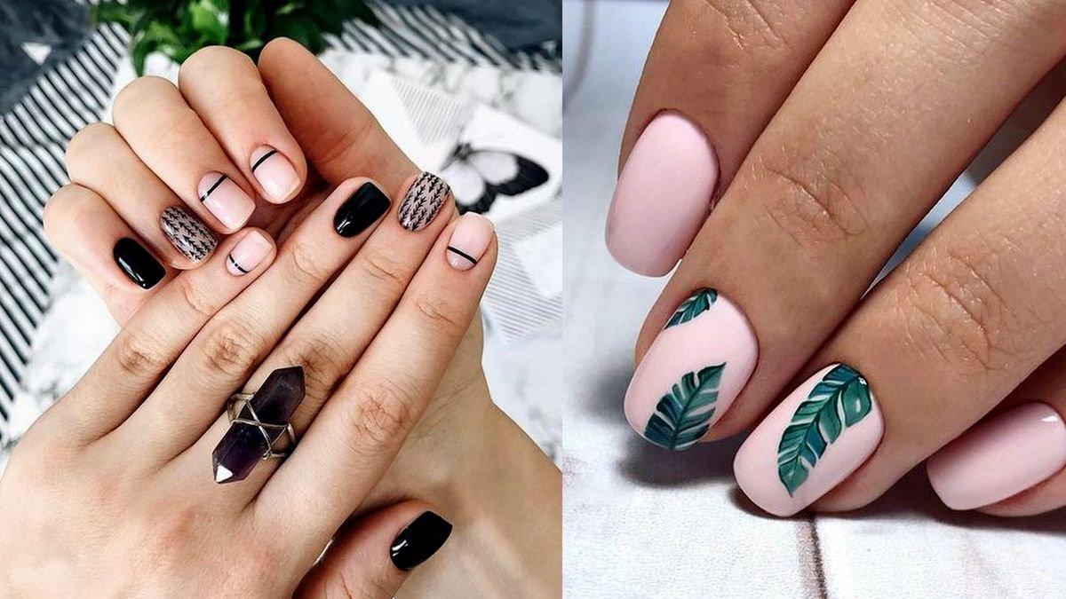 Krótki manicure - galeria najpiękniejszych stylizacji