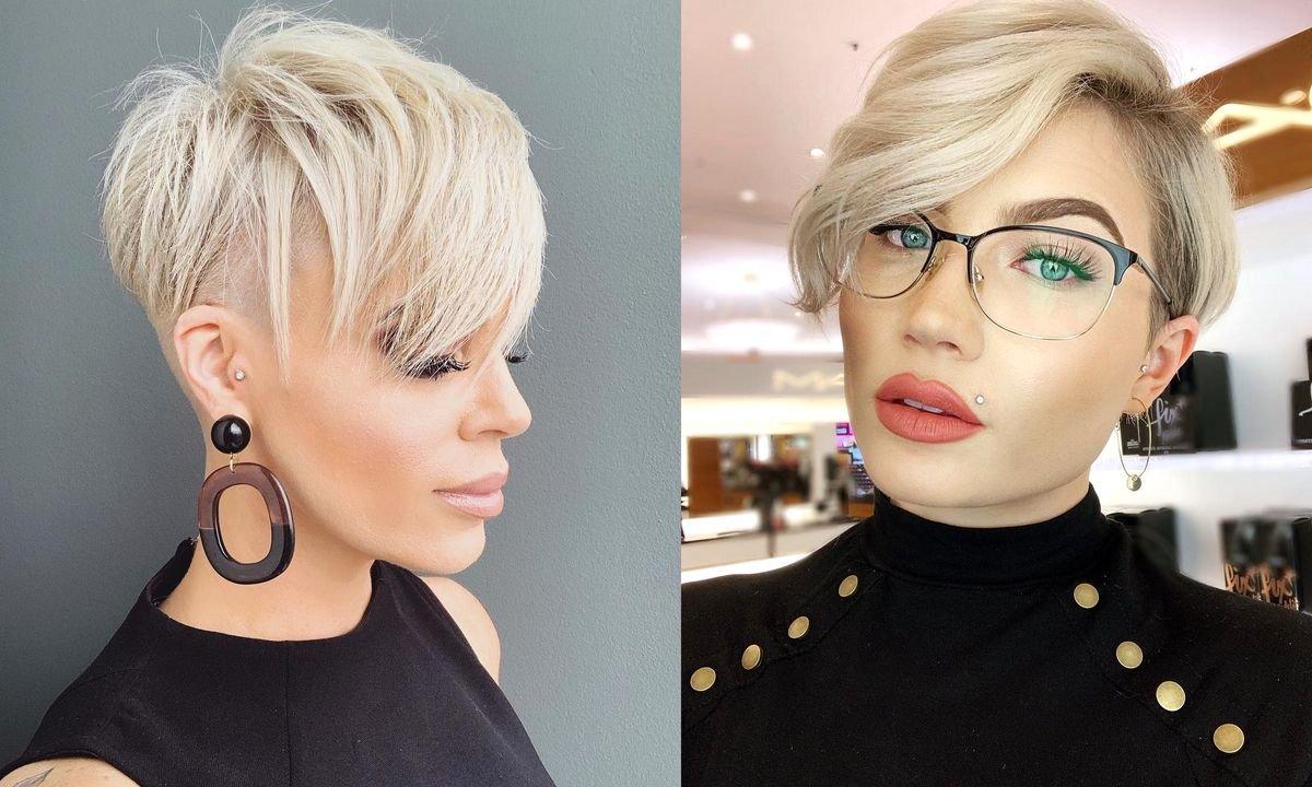 Krótkie fryzury z grzywką na bok – te stylowe cięcia rządzą!