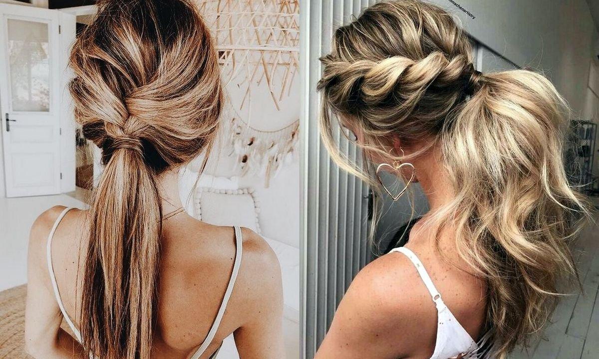 16 pomysłów na stylową fryzurę z kucykiem w roli głównej [galeria]