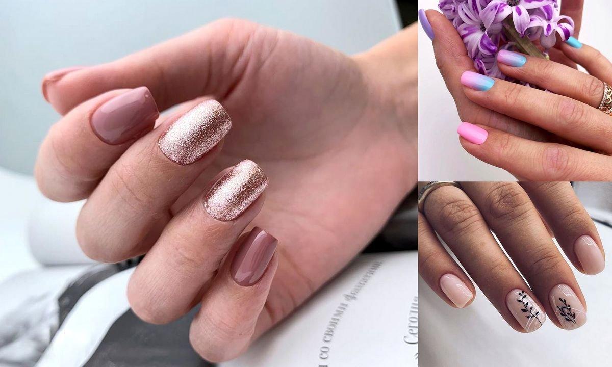 Krótki manicure - 30 najpiękniejszych stylizacji