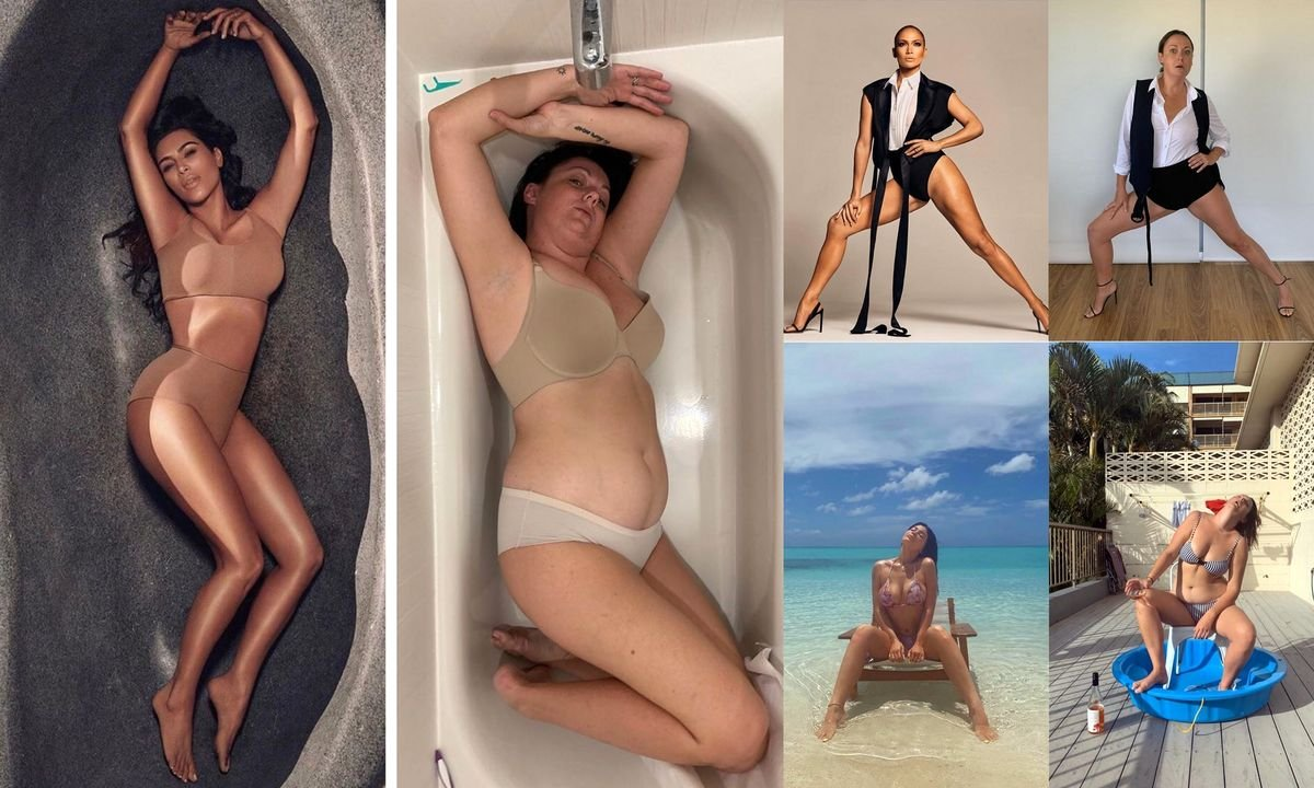 Odtwarza zdjęcia celebrytów i jest w tym GENIALNA! Musisz TO zobaczyć! Ta kobieta to prawdziwa petarda!