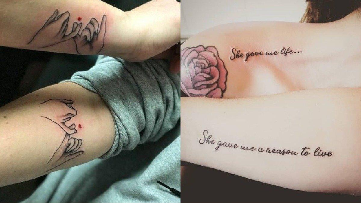 Tatuaże dla mamy i córki - 21 pomysłów na tatuaże dla kobiet [GALERIA]