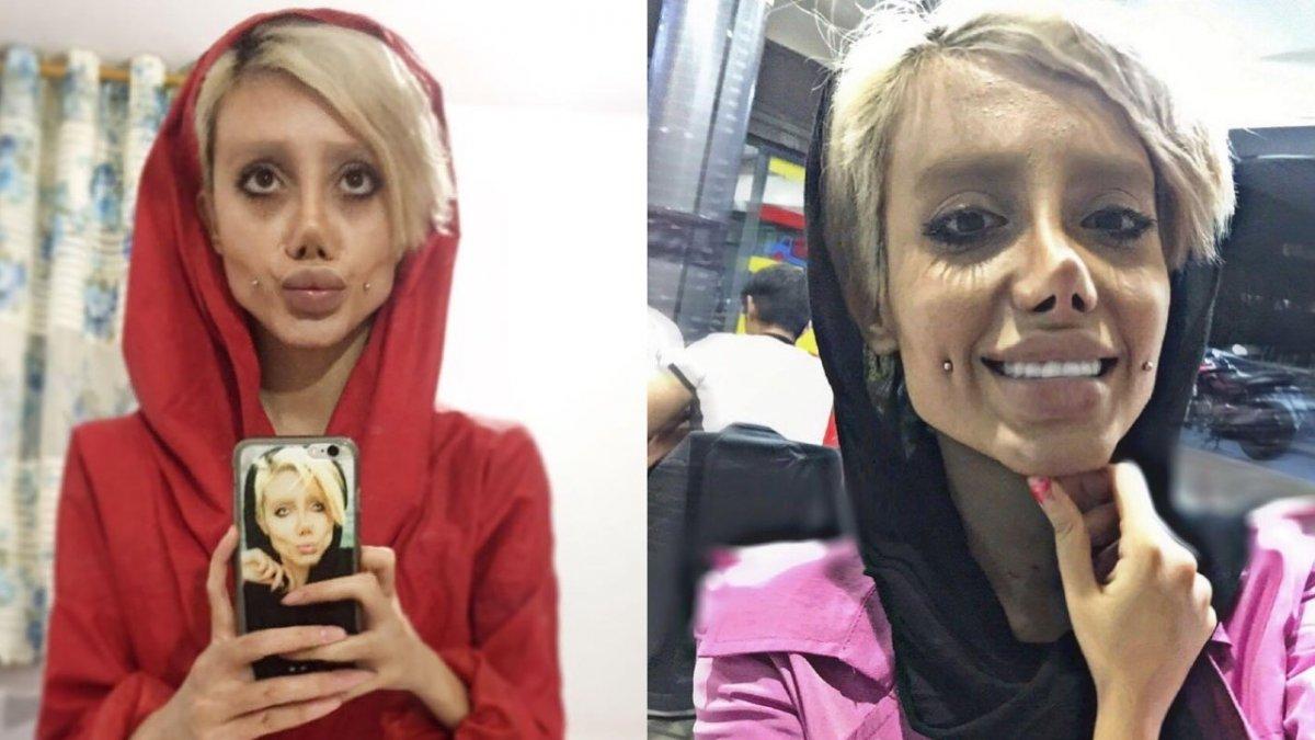"""Gwiazda Instagrama """"Zombie Angelina Jolie"""" zaraziła się koronawirusem w irańskim więzieniu"""