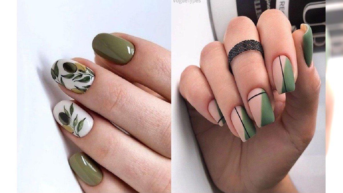 Zielone paznokcie - 22 pomysły na zielony manicure [GALERIA]