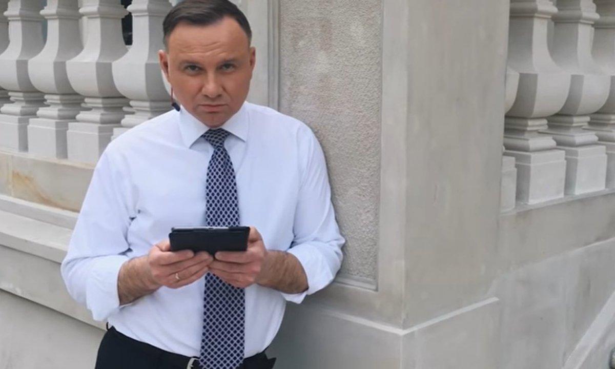 """Andrzej Duda komentuje """"OSTRY CIEŃ MGŁY"""": """"Niektórzy dali się nabrać na..."""" Co myślicie o nagraniu?"""