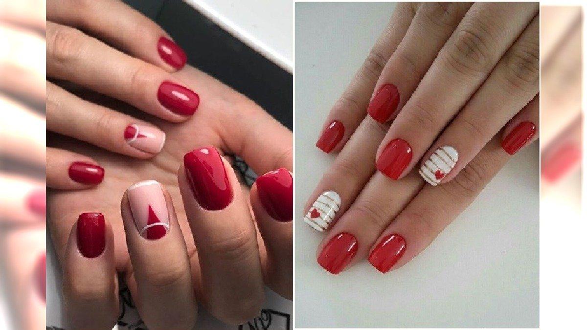 Czerwone paznokcie - 24 pomysły na elegancki, czerwony manicure [GALERIA]