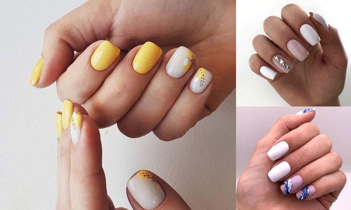 Jasny manicure - 30 najpiękniejszych propozycji z sieci