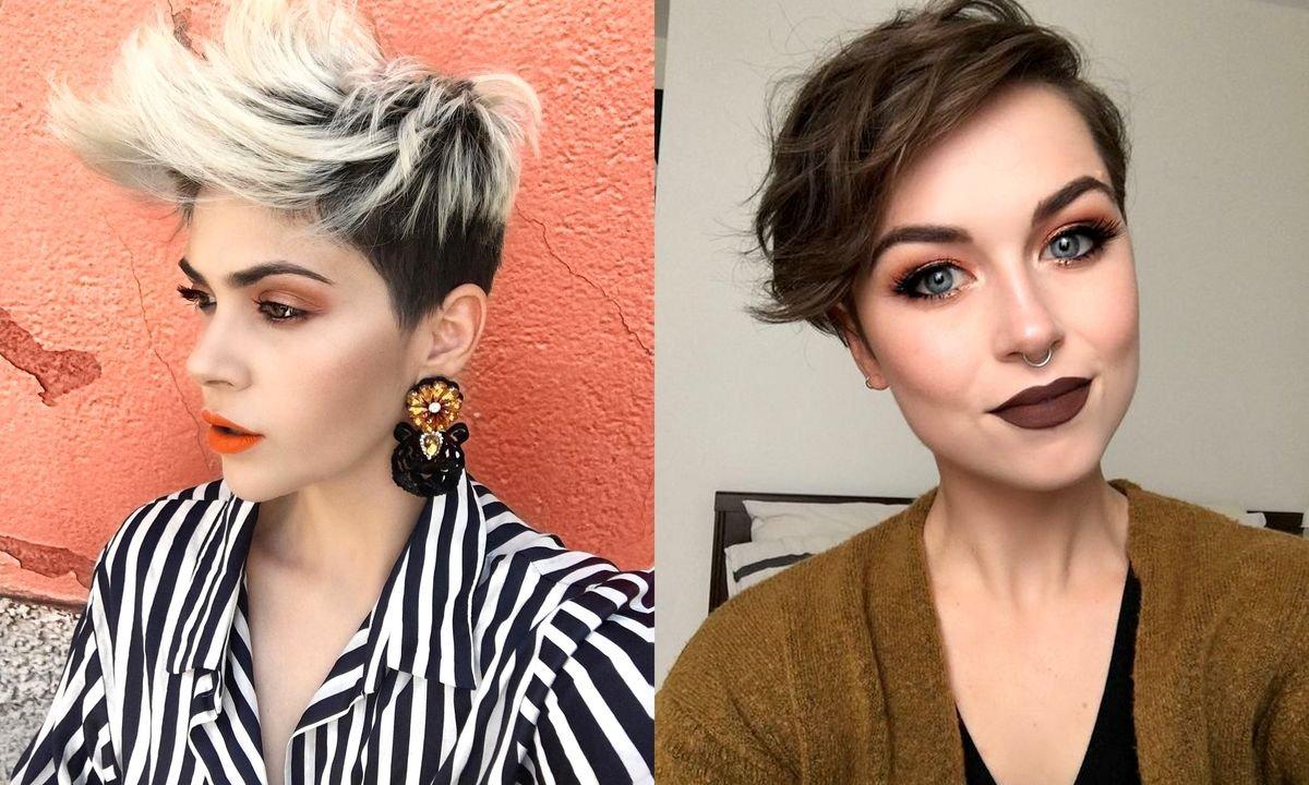 Krótkie fryzury damskie 2020 - katalog modnych cięć