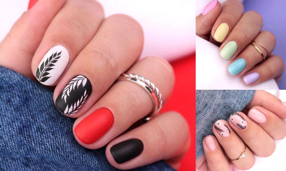 Krótki manicure - 15 przepięknych i stylowych zdobień