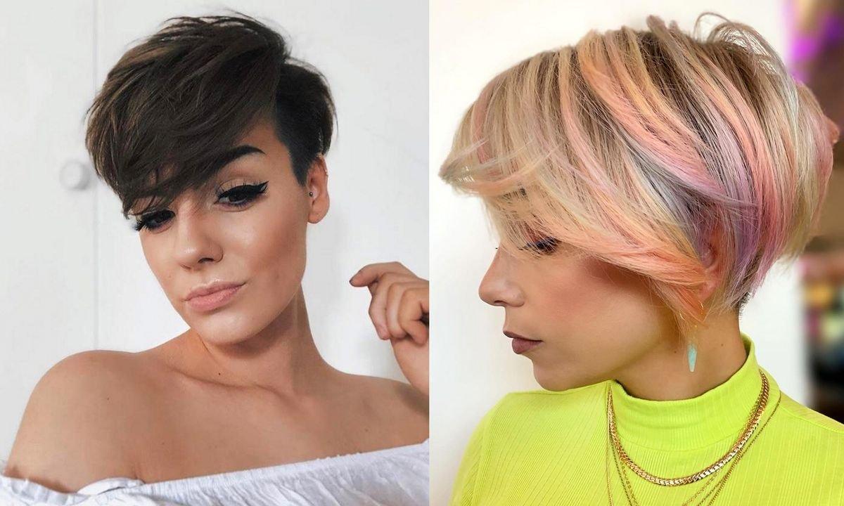 Krótkie fryzury z grzywką - galeria stylowych cięć
