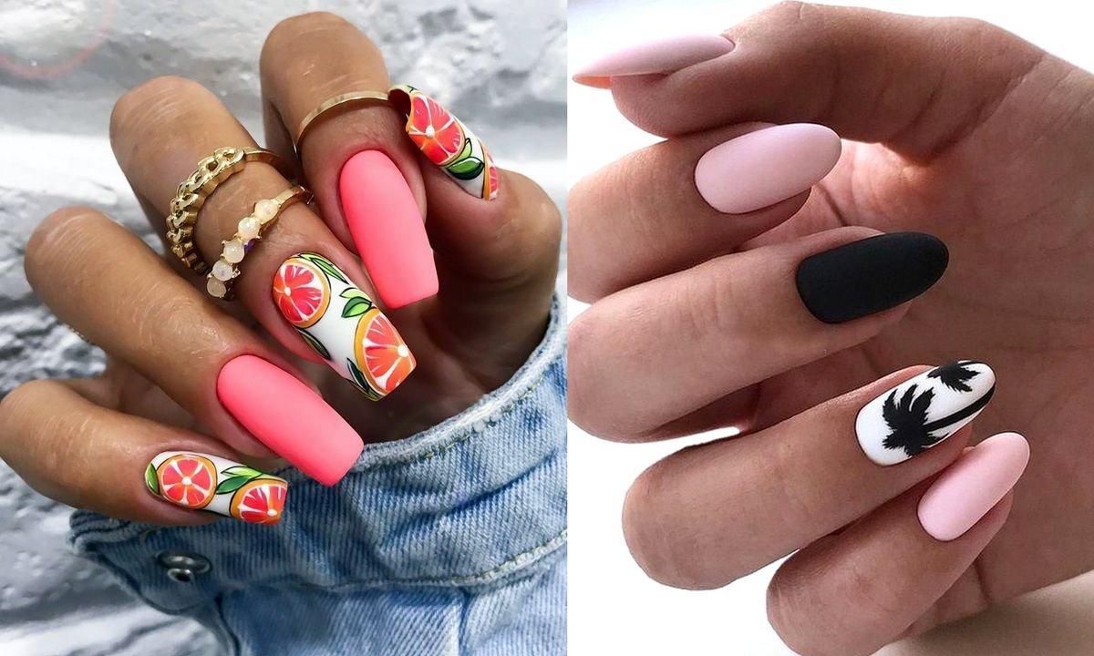 25 stylizacji manicure na lato i nie tylko! [GALERIA]