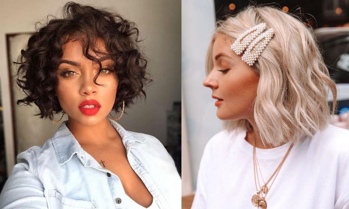 Curly bob - 17 stylowych fryzur, które ujarzmią kręcone włosy