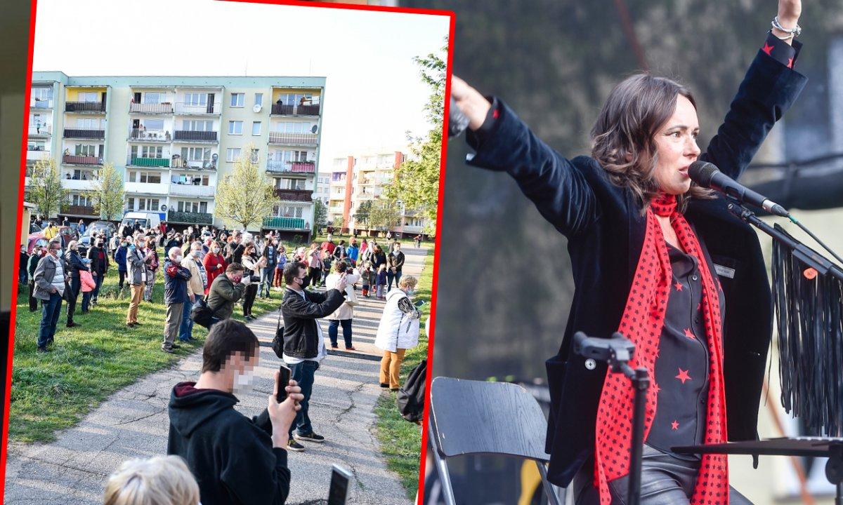 """Kasia Kowalska zagrała koncert, po którym wylała się na nią lawinę hejtu: """"Wstyd i hańba!"""", """"Hipokrytka"""""""