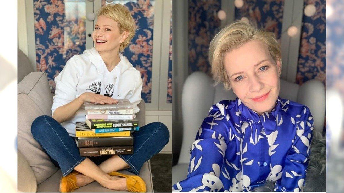 """Małgorzata Kożuchowska prezentuje figurę w staniku i krótkich szortach. """"Ja gotowa na imprezę"""" - pisze. Fanów zamurowało"""