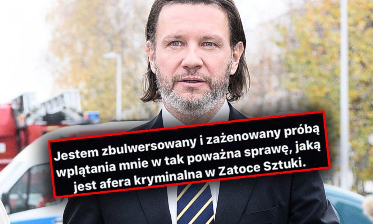 """Radosław Majdan ostro do Latkowskiego: """"Stres to ostatnie, czego moja żona teraz potrzebuje"""""""