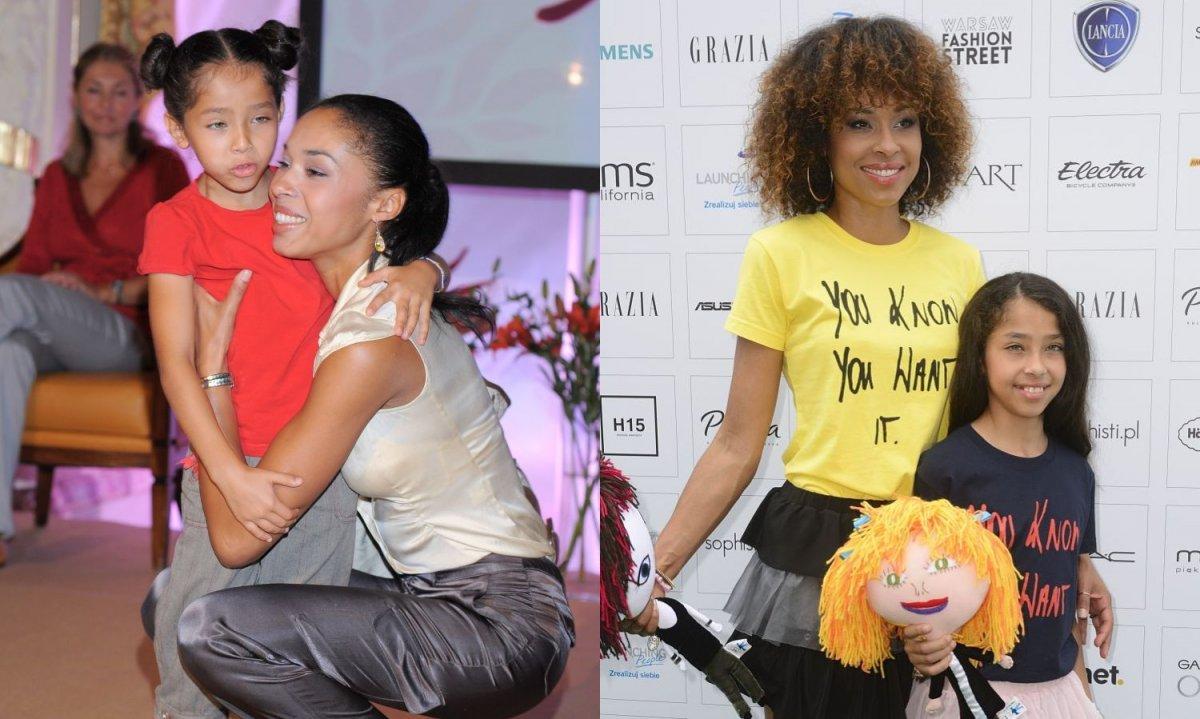 Córka Omeny Mensah skończyła 18 lat! Zobaczcie, jak się zmieniła!