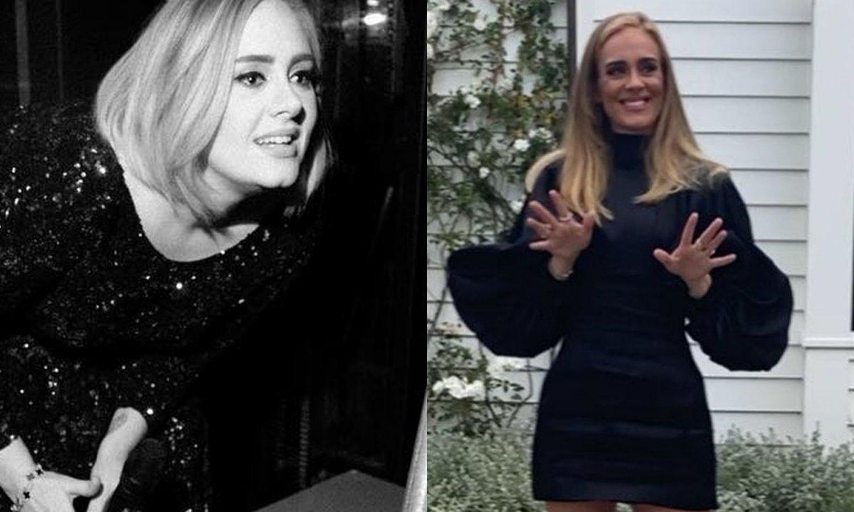 Wypłynęło nowe zdjęcie szczupłej Adele! Jej metamorfoza zapiera dech!