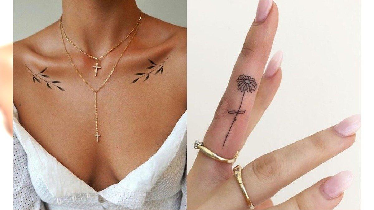 Tatuaże dla kobiet - 27 pomysłów na małe, kobiece tatuaże [GALERIA]