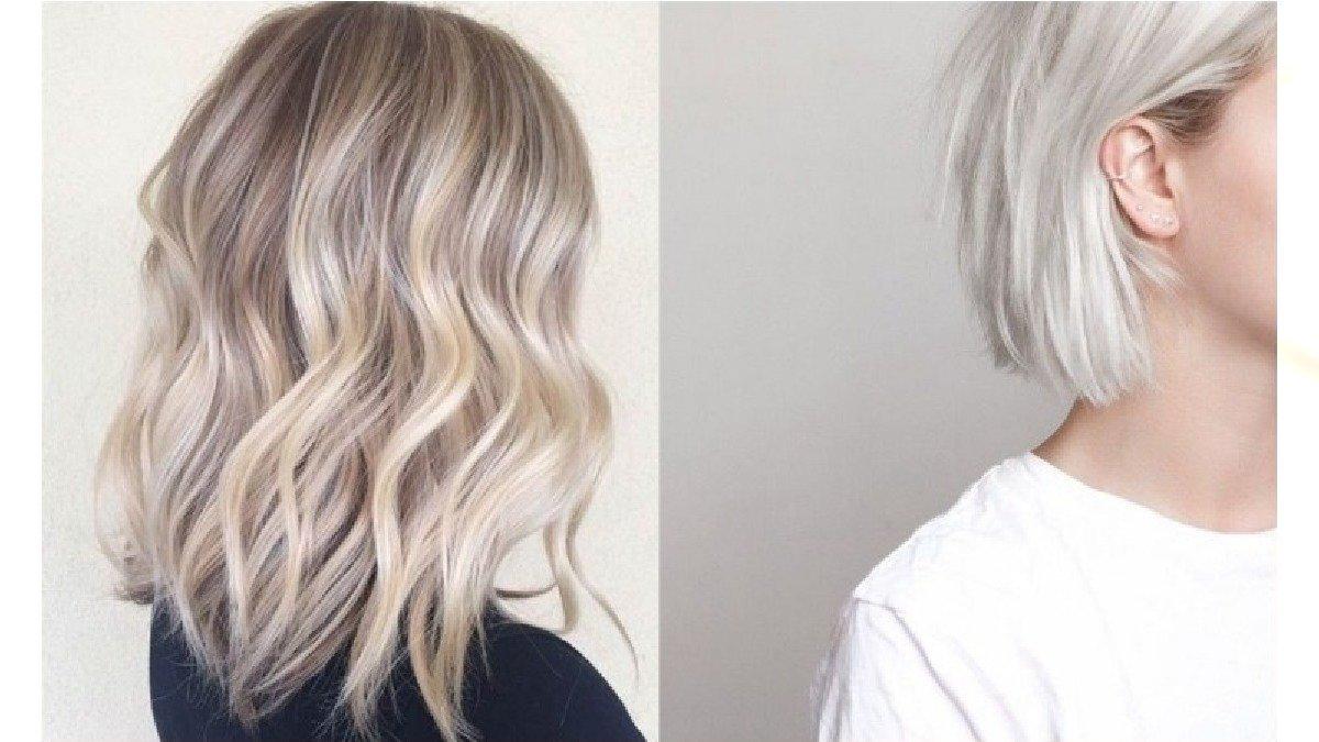 Chłodne odcienie blondu - hit w koloryzacji włosów na wiosnę i lato 2020!