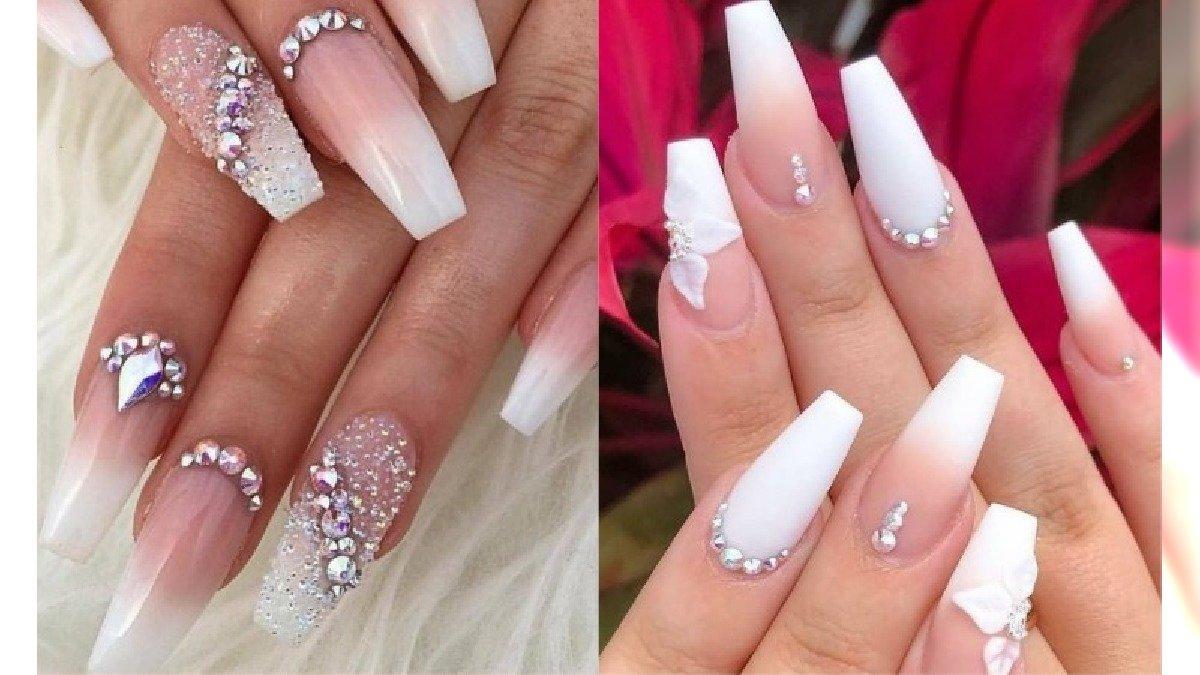 Paznokcie baby boomer z wzorami - eleganckie zdobienie paznokci