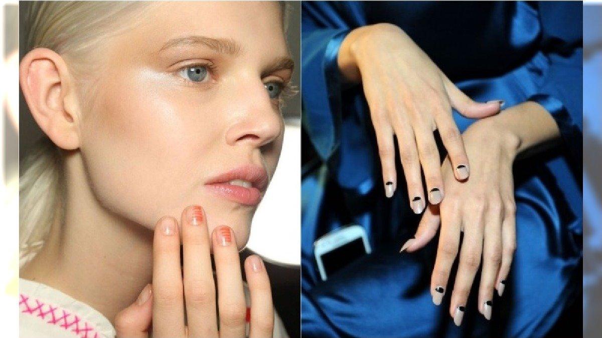 Modne paznokcie na wiosnę - trendy z pokazów mody najlepszych projektantów