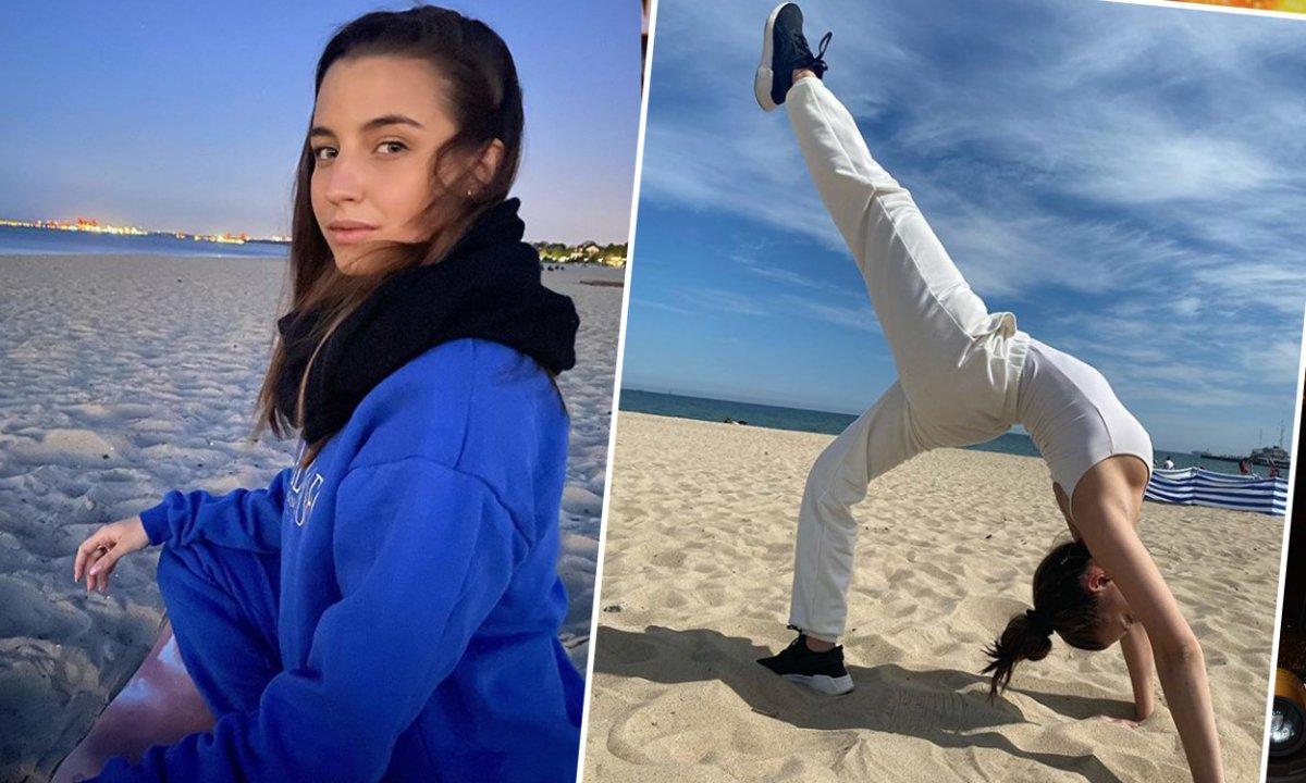 Julia Wieniawa na plaży z drogą torebką. Przeciętny Polak musiałby na nią pracować kilka miesięcy!